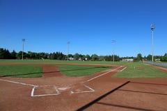 Baseball Shadows Stock Image