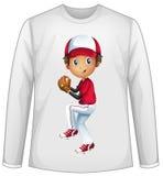 Baseball shirt Royalty Free Stock Images