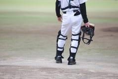 Baseball smoła Obrazy Royalty Free