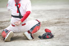 Baseball smoła Fotografia Royalty Free