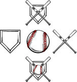 Baseball / Softball Images royalty free illustration