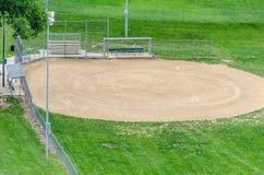 Baseball / Softball Sports field Royalty Free Stock Photo