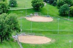 Baseball / Softball Sports field Stock Images