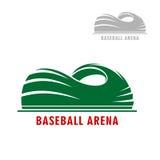 Baseball or softball stadium symbol Royalty Free Stock Photography