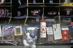 Baseball Souvenirs, Fenway Park, Boston, Massachusetts Royalty Free Stock Image