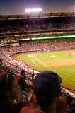 Baseball-Spiel lizenzfreie stockbilder