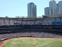 Baseball-Spiel Lizenzfreies Stockbild