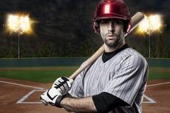 Baseball-Spieler Lizenzfreies Stockfoto