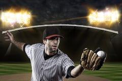 Baseball-Spieler Stockfotografie