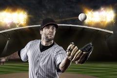 Baseball-Spieler Lizenzfreies Stockbild