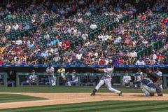 Baseball-Spieler Charlie Blackmon Stockfoto