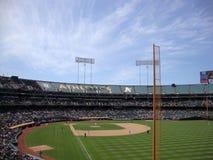 Baseball-Spieler eingestellt für Spiel während der Engel gegen Spiel a Stockfotos