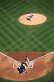Baseball-Spieler - Zack Greinke von kc Royals Stockbild