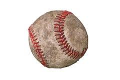 Baseball sporco immagini stock
