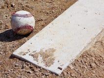 Baseball sporco Immagini Stock Libere da Diritti