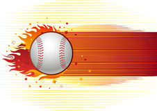 Baseball sport Stock Image