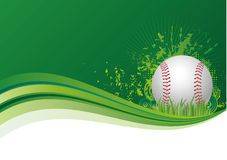 baseball sport background Stock Image