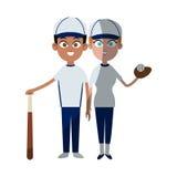 Baseball sport desgin Royalty Free Stock Photography