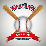 Baseball sport design Royalty Free Stock Images