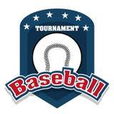 Baseball sport design Stock Images