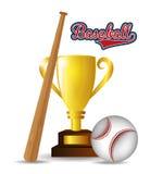Baseball sport design Stock Image