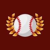 Baseball sport emblem icon Stock Images
