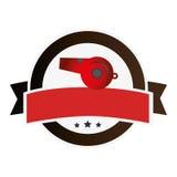 Baseball sport wristle emblem icon Stock Photos