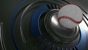 Baseball sports background. 3D Render of a Baseball sports background Royalty Free Stock Image