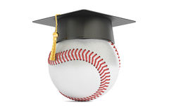 Baseball sports education concept, 3D rendering Stock Photography