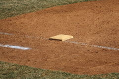 Baseball - 1st Base Royalty Free Stock Photo