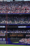 Baseball-Stadion mit Fans Lizenzfreies Stockfoto