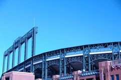 Baseball Stadium 1 Royalty Free Stock Photography