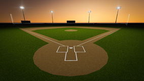 Free Baseball Stadium Royalty Free Stock Images - 52180749