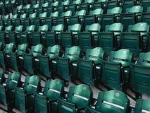 Baseball Stadium Seats. Perfect rows of stadium seats at a major league baseball park Stock Photography