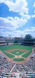 Baseball stadium, Texas Rangers v. Baltimore Orioles, Dallas, Texas Royalty Free Stock Photos