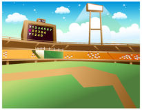 Baseball Stadium Royalty Free Stock Photos