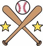 Baseball Star Logo Stock Image