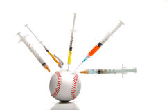 Baseball Steroids Stock Photography