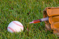 Baseball Steroids Royalty Free Stock Photography