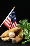 Baseball Still Life Stock Photo