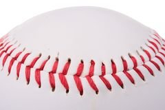 Baseball stitch Stock Photos