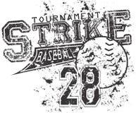 Baseball strike. Nice baseball emblem vector format Stock Photo
