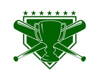 Baseball symbol Royalty Free Stock Photography