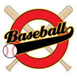 Baseball With Tail Banner Royalty Free Stock Photo
