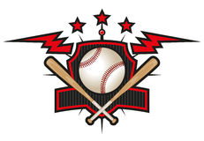 Baseball team logo Stock Images