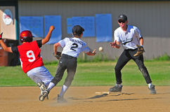 Baseball team work Royalty Free Stock Photography