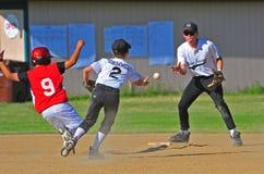 Baseball team work royalty free stock photography