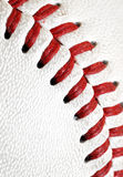Baseball texture. Close up of a baseball. Nice background/texture Stock Photo