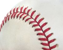 Baseball Threads Background Stock Image