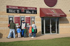 Baseball Ticket Window Royalty Free Stock Photos